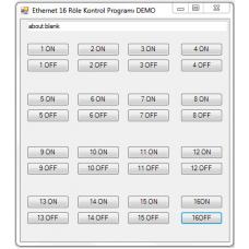 ethernet 16 röle kontrol kartı rt212 kutulu