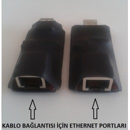 Usb Uzatma Kablosu Extender Kablo 300 Metre