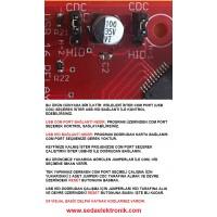 usb 16 röle kontrol kartı rt-212 kutulu hibrid