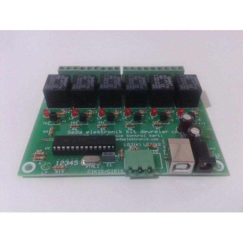 5D 6D 7D Sinema Sistemleri Kontrol Devresi 6 Röle
